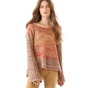 NWOT free people | morning bell pullover